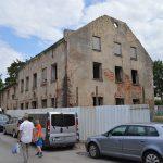 Už nugriautą senamiesčio pastatą - minimali bauda