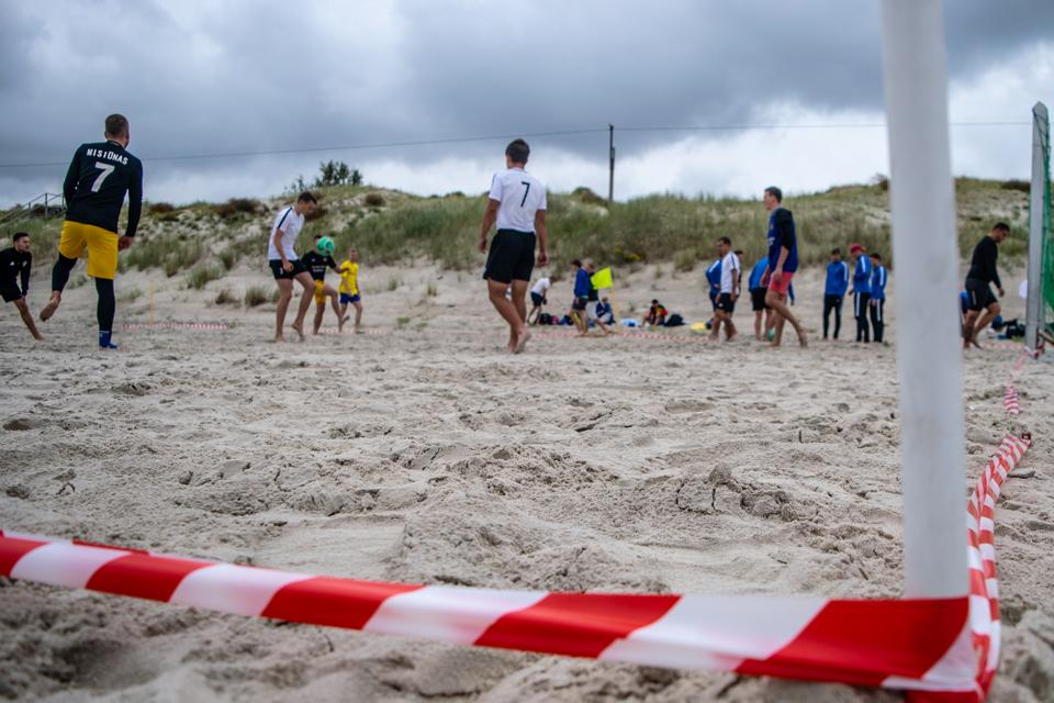 Smiltynėje – antrasis Vasaros paplūdimio sporto festivalis