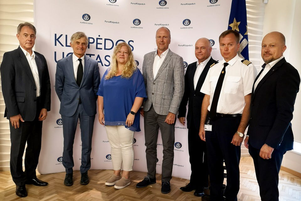 Klaipėdos uoste –  svečiai iš Ventspilio