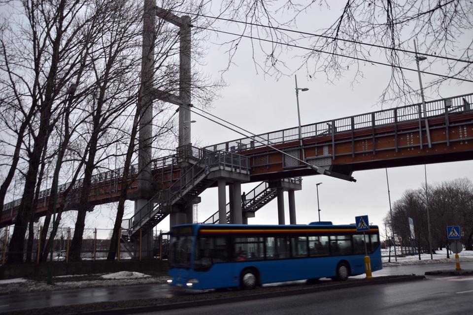 Tiltas nepraeinamas bus iki antradienio