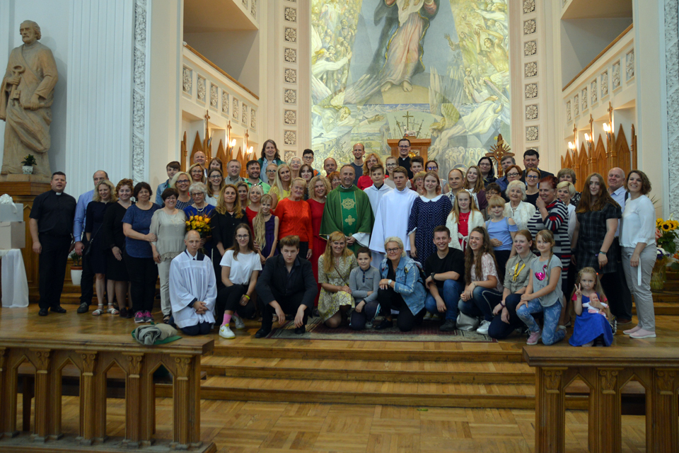 Su Klaipėdos Marijos Taikos Karalienės bažnyčia atsisveikina praturtėjęs