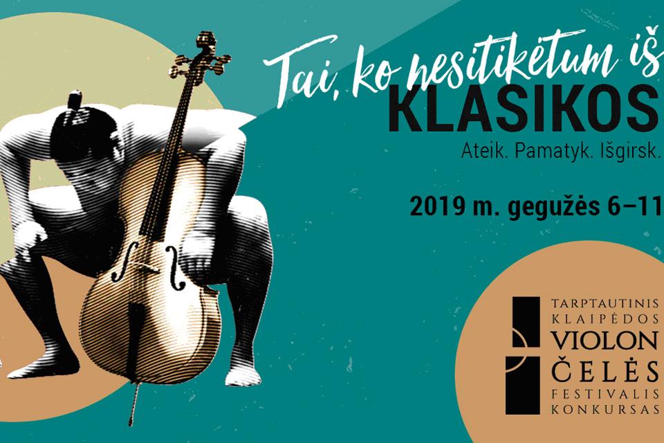 Klaipėdos violončelės festivalio atidarymo koncertuose – nuo muzikos iki šokio