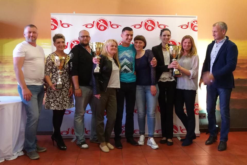Tarp žaidynių nugalėtojų – ir Klaipėdos medikai