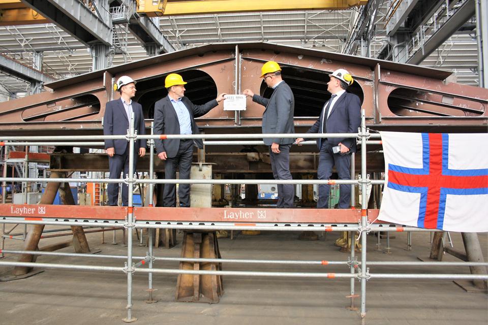 Vakarų Baltijos laivų statykla stato mokslinių tyrimų laivą