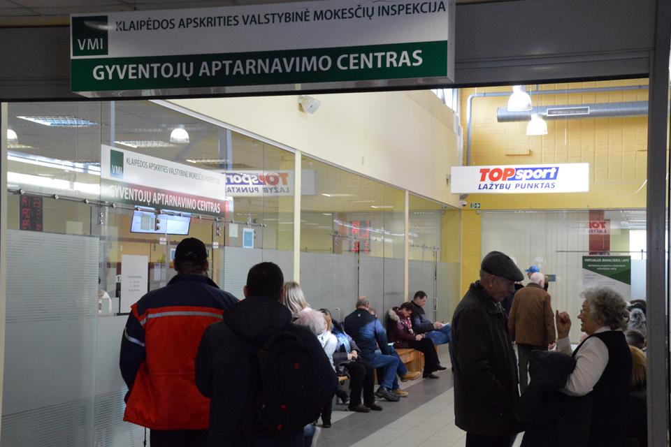 Atveriami Klaipėdos apskrities mokesčių inspekcijos padaliniai