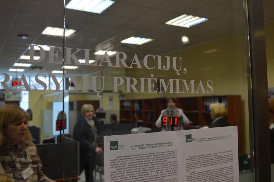 Pajamų dar nedeklaravo 34 tūkst. smulkiųjų Vakarų Lietuvos verslininkų
