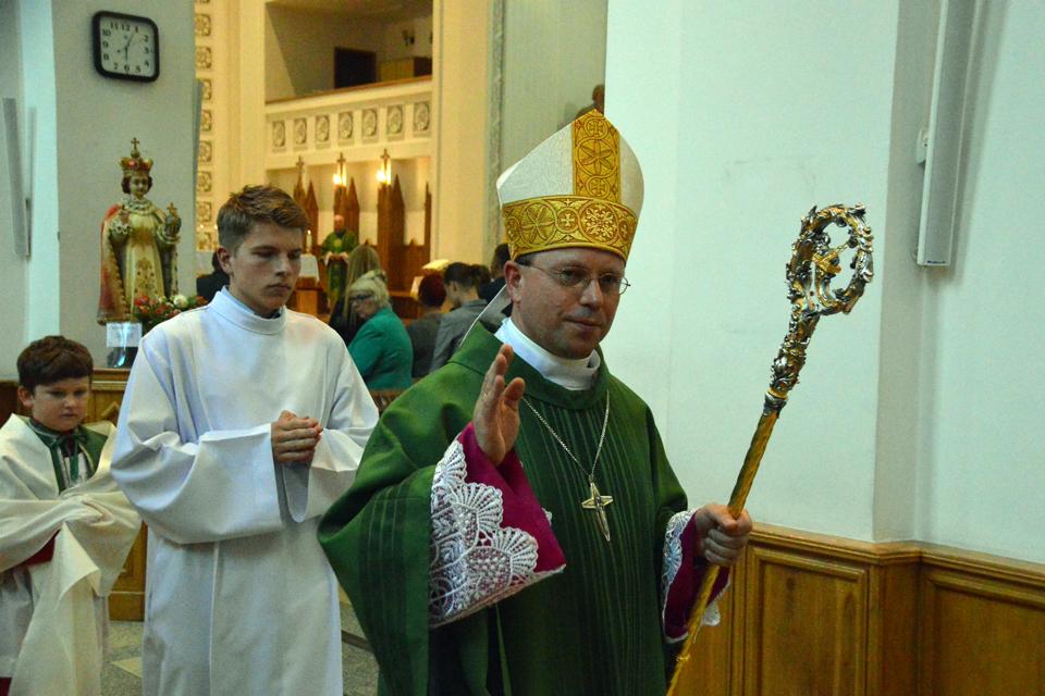 Naujasis vyskupas nestokoja humoro jausmo