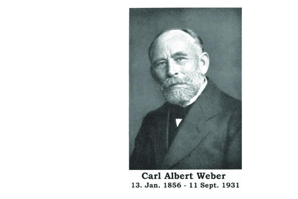 Botanikas Karlas Vėberis ir Aukštumalos pelkė