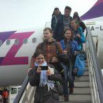 Palangoje - pirmasis skrydis nuo karantino įvedimo
