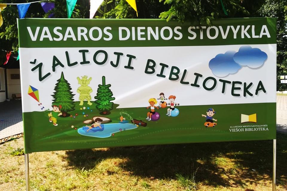 Bibliotekoje – vaikų vasaros poilsio programos