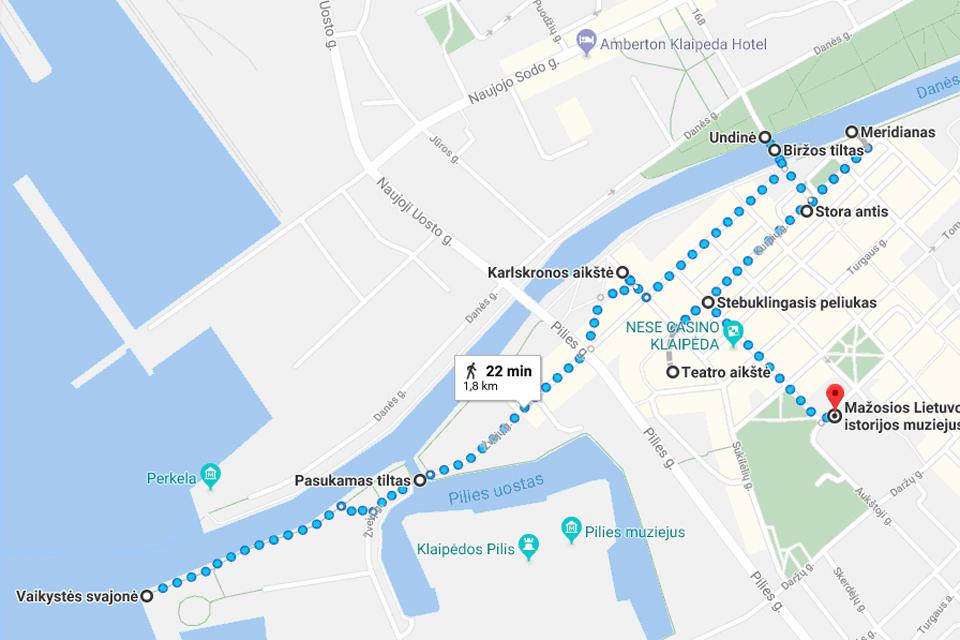 Savaitgalio turas po Klaipėdą