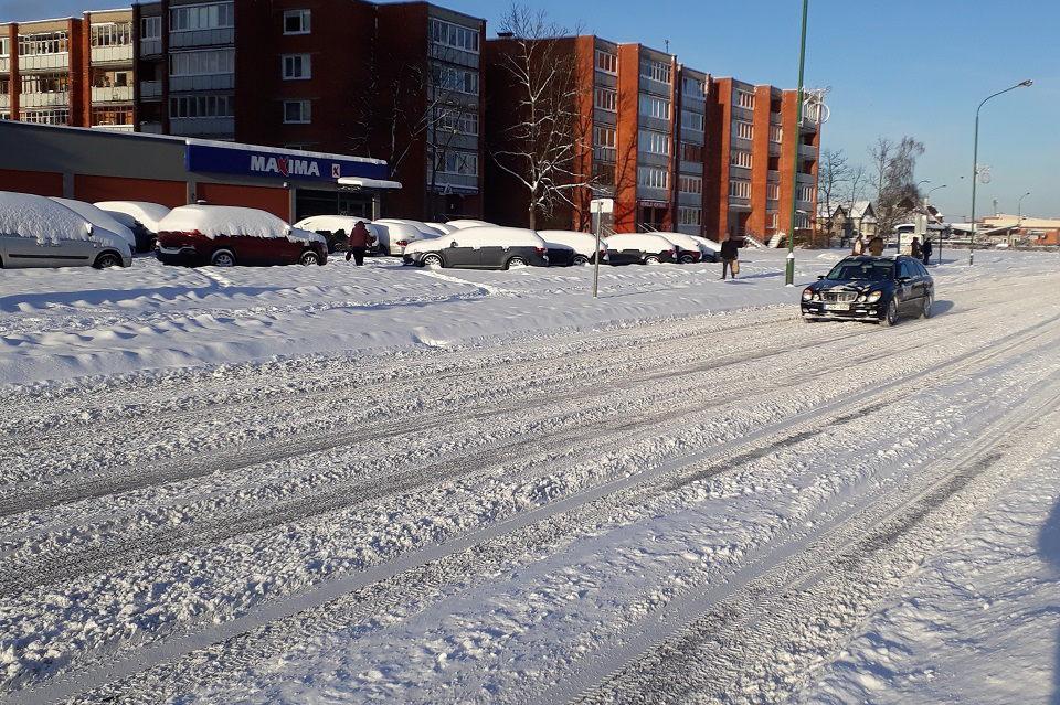 Klaipėdos gatvių valytojams – tūkstantinės baudos