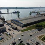 Uoste - naftos produktų dėmė