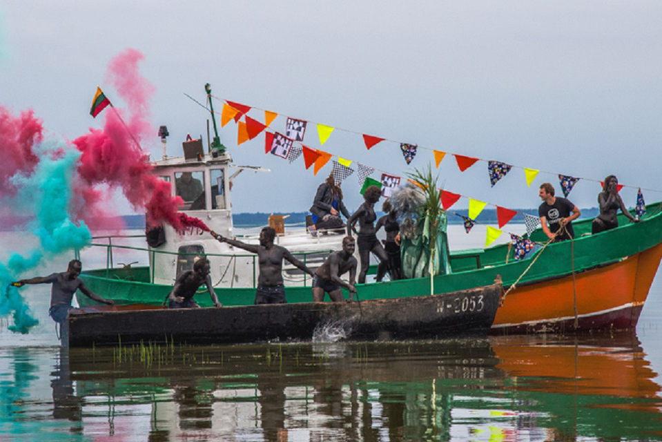 Juodkrantė ruošiasi Žvejo šventei